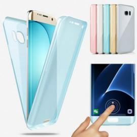 Funda rígida con dibujo 3D Frontal + Trasera Samsung S6