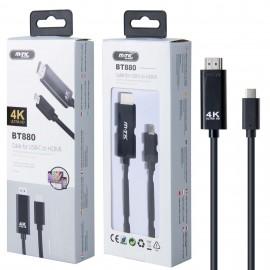 Cable Adaptador Type C a HDMI K4K Ultra HD