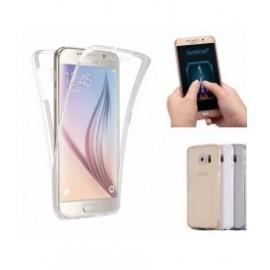 Funda rígida con color 双面 Frontal + Trasera Motorola G6 Plus