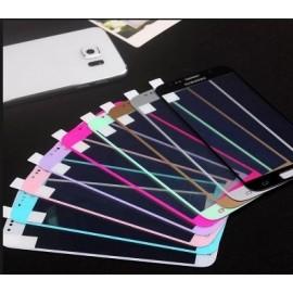Protector cristal con color 丝印 Nokia 3.1