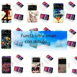Funda libro ultra iman con dibujo强磁彩图 Vsmart Active 1 Plus