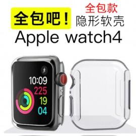 Tapa transparente plástica para reloj iPhone 44 mm