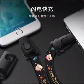 Colgante con cable USB rapido para Smartphone