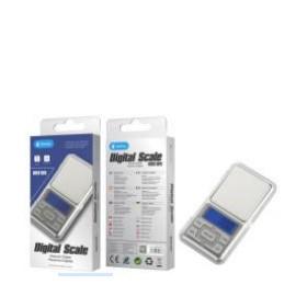 Bascula Digital , 0.1G,Función de Tara y recuento, Calibrable, Mini balanza de joyería,Plata