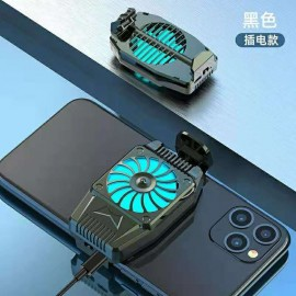 Mini Ventilador para movil con cargador con aire frío
