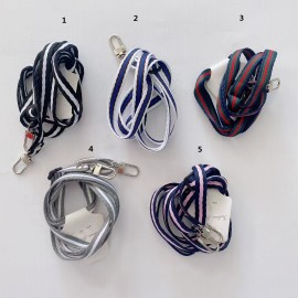 Cuerda de tela para movil con tarjete