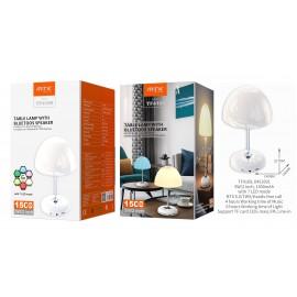 Nocturna Led con Altavoz 2 en 1, con 7 Modos de LED, Bluetooth 5.0, TWS, TF, FM, Mano libre, 1500mAh
