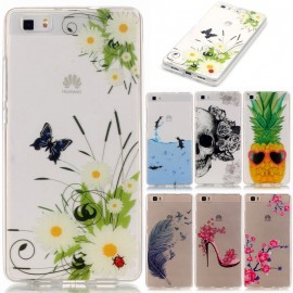 Funda Silicona con dibujo 3D (Transparente Frontal + Trasera) iPhone 6 Plus