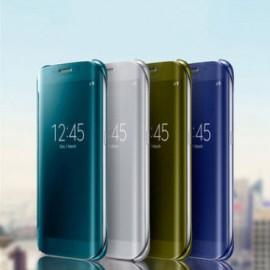 Funda de movil de libro de espejo Samsung J7 2016