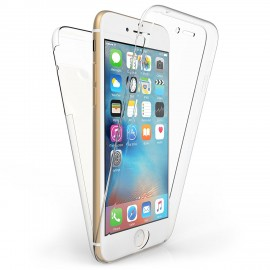 Funda Silicona con dibujo 3D 双面 (Transparente Frontal + Trasera) iPhone 8 Plus