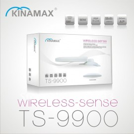 Kinamax TS-9900 WiFi High Power Wireless USB Adapter with 5m cable