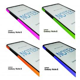 Funda rígida con color 3D 双面 Frontal + Trasera iPhone X